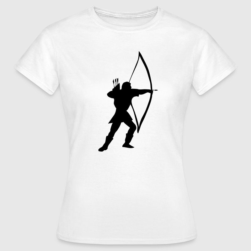 longbow archer medieval  - Women's T-Shirt