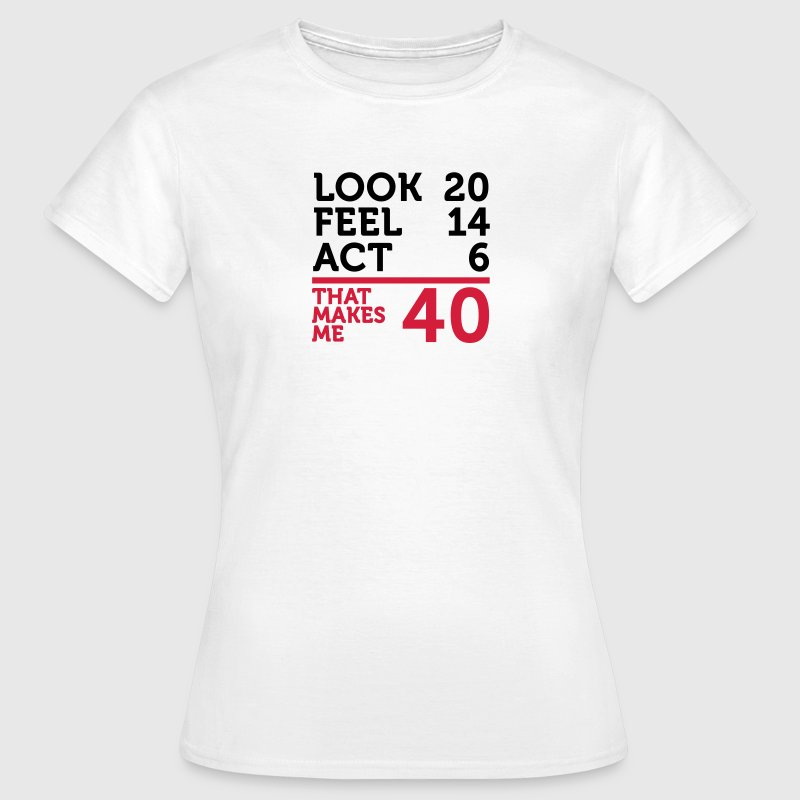 I am 40 years old, but .... - Women's T-Shirt