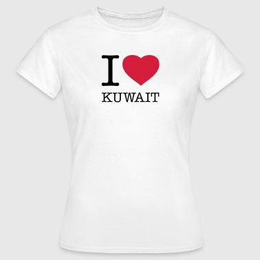 Kuwait I LOVE KUWAIT - Women's T-Shirt
