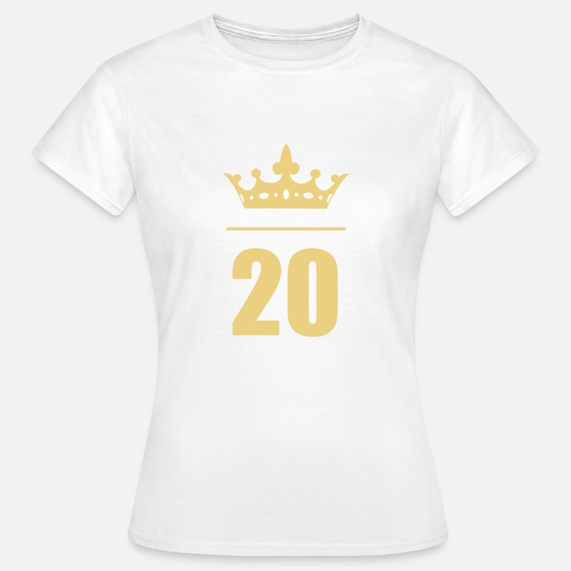 20 Birthday Age Frauen T Shirt