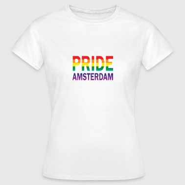 Pride Amsterdam in rainbow color - Women's T-Shirt