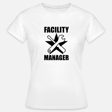 Facilities Manager Facility Manager | Hausmeister | Star | Stern - Women's T-Shirt