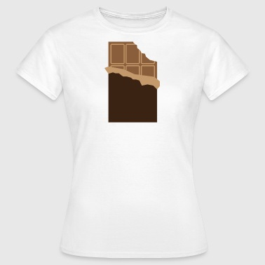 Candy A Bar Of Chocolate - Women's T-Shirt
