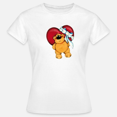 Black Bear The Bear and the gift - Women's T-Shirt