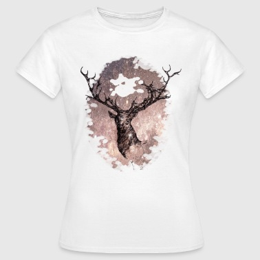 the star of the stag - Vrouwen T-shirt