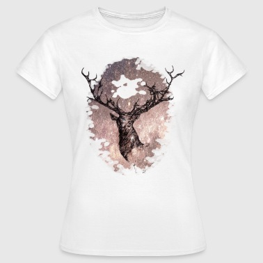 the star of the stag - Camiseta mujer