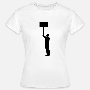 Demonstrant demonstrant - T-shirt dam
