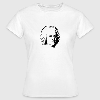 Bach portret - Vrouwen T-shirt