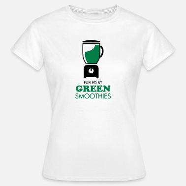 Smoothie Fueled By Green Smoothies - Camiseta mujer