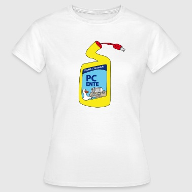 PC Duck - Women's T-Shirt