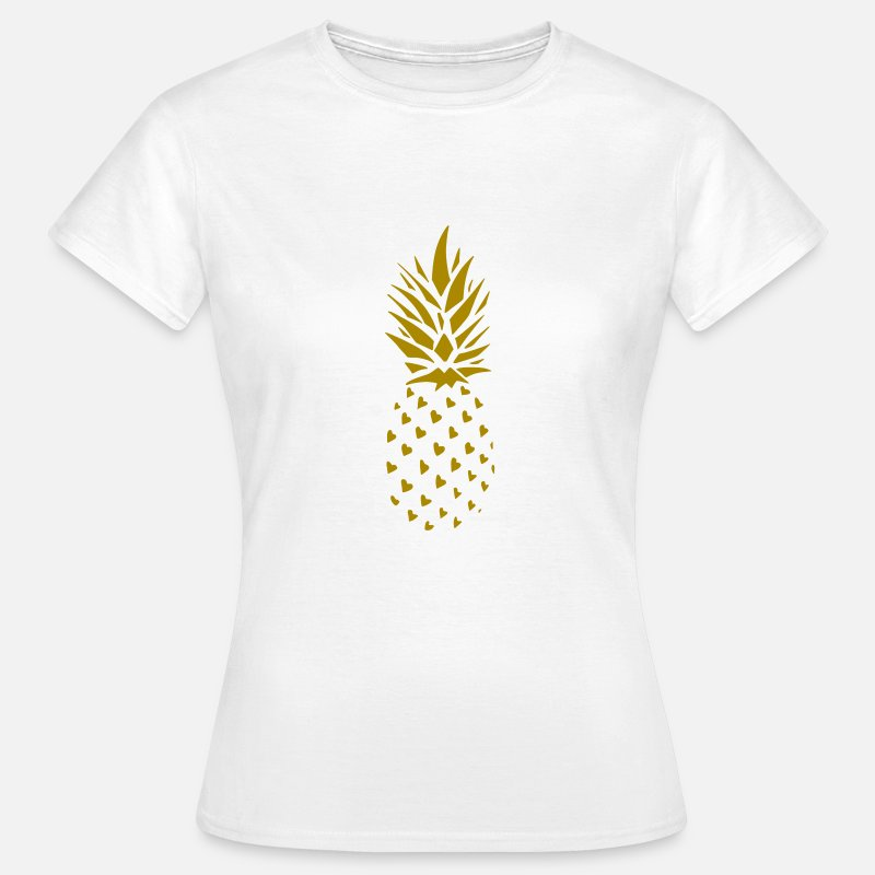 Bestsellers Q4 2018 T-Shirts - Pineapple Gold - Women's T-Shirt white