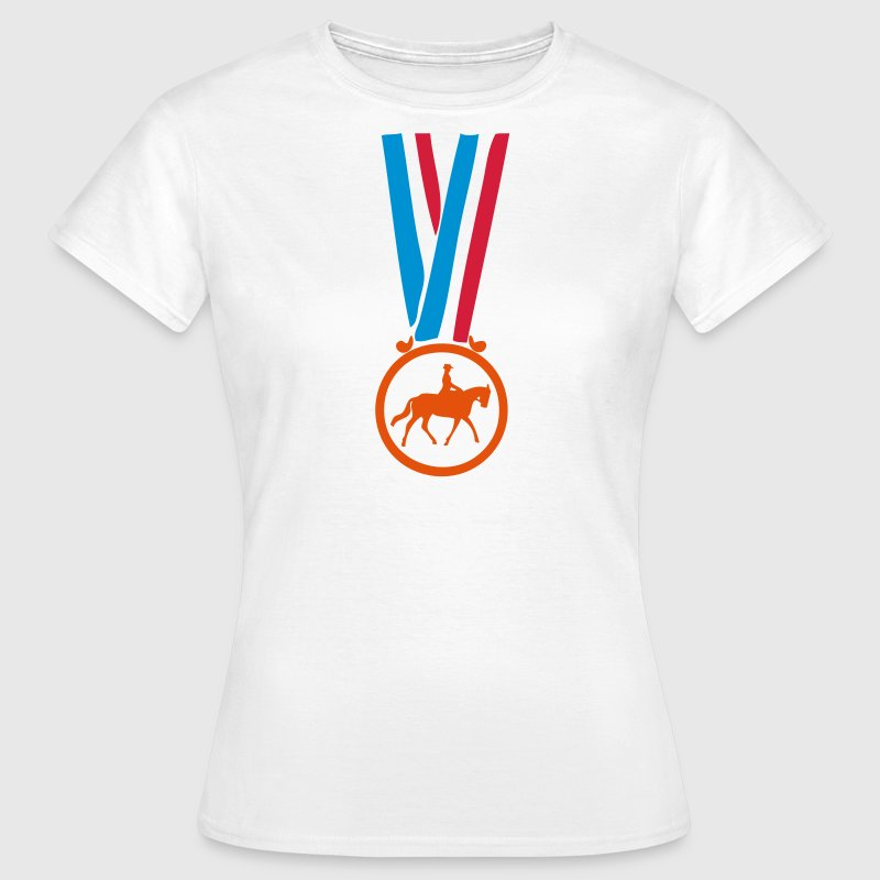 champion medaille equitation - T-shirt Femme