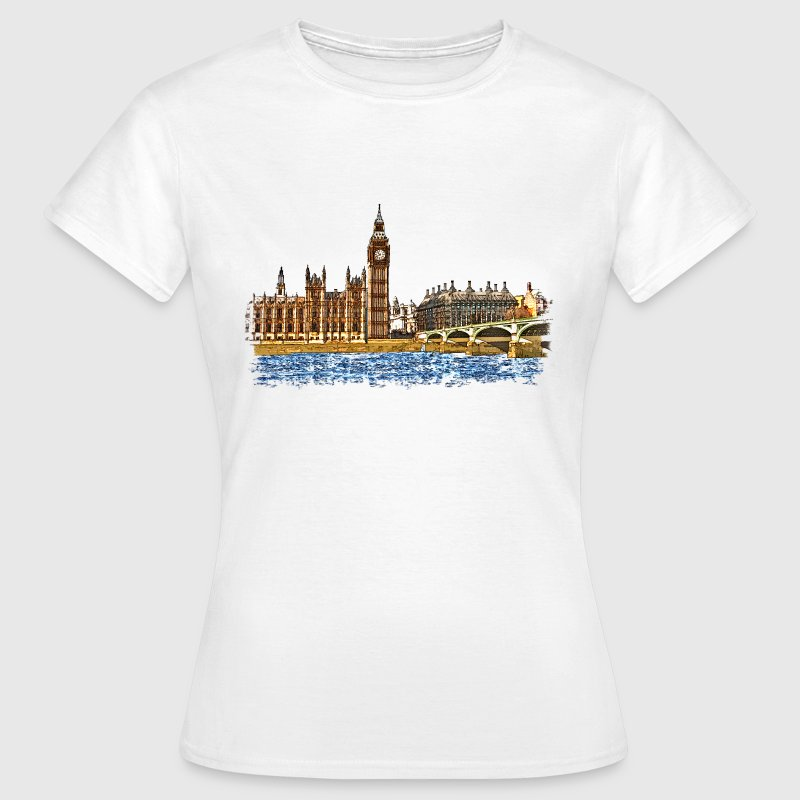 houses of parliament - Women's T-Shirt