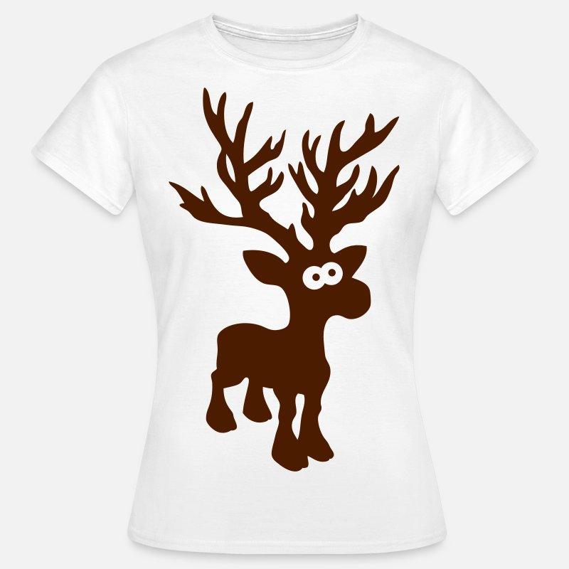 Lindo Alce Caribu Renos Ciervo Navidad Noruega Rudolf Rudolph - Ciervo-navidad