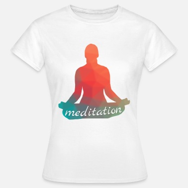 Meditate meditation - Women's T-Shirt