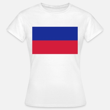 Carrefour National Flag of Haiti - Women's T-Shirt