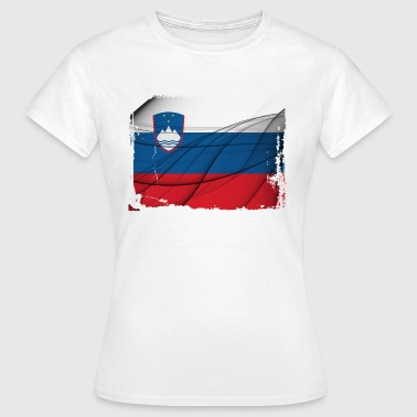Slovenija Flag - Women's T-Shirt