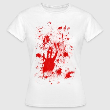 Splashes of blood / blood Smeared - Women's T-Shirt