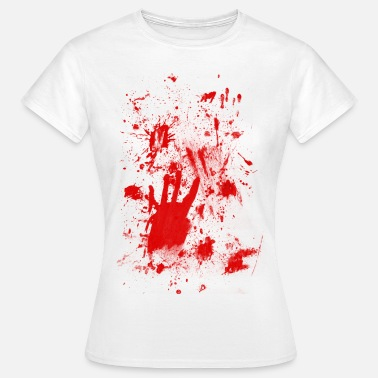 Halloween Blood Splashes of blood / blood Smeared - Women's T-Shirt