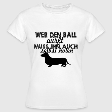 Dackel - Frauen T-Shirt