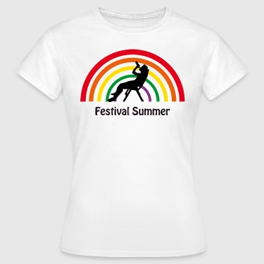 Festival Summer 04 / Festival Konzert Party Sommer - Frauen T-Shirt