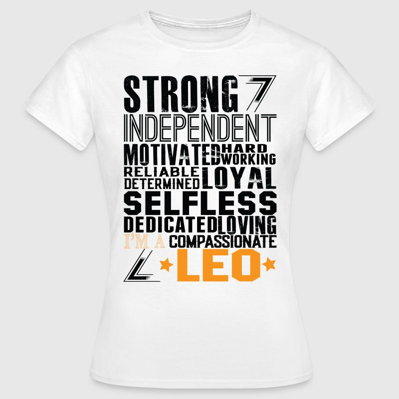 Strong Independent Motivated Leo - Women's T-Shirt