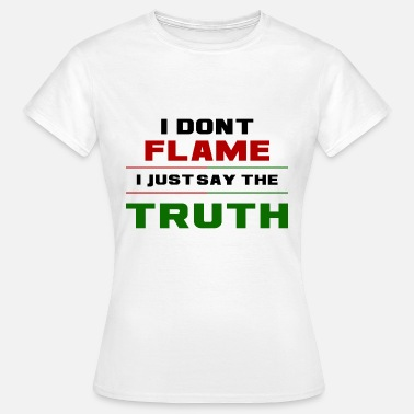 Dota2 Flame Truth - Women's T-Shirt