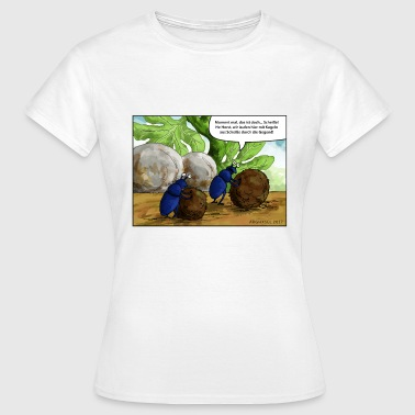 Mistkaefer - Frauen T-Shirt
