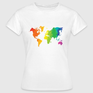 colour the world - Vrouwen T-shirt