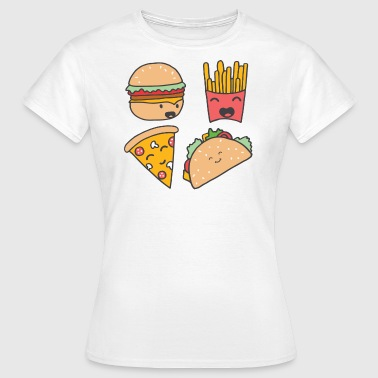 fast food friends - Women's T-Shirt