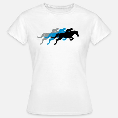 Horse Racing Horse Race - Steeplechase - Derby - Racing - Women's T-Shirt