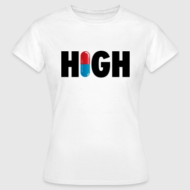 Grappige i love high party drugs ecstacy xtc - Vrouwen T-shirt