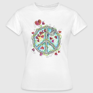 Peace - Frauen T-Shirt