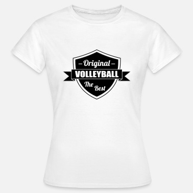 Volley Volleyball - Volley Ball - Sport - Sportsman - Vrouwen T-shirt