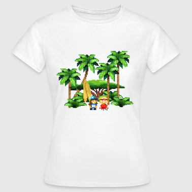 beach love - Frauen T-Shirt