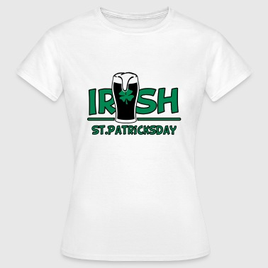 St Patricks Day St. Patricks dag - Dame-T-shirt