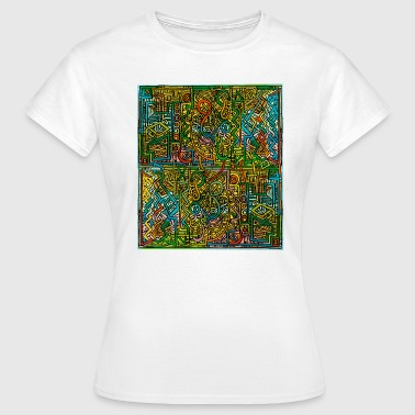 House Psychedelic psychedelic t-shirt - Women's T-Shirt
