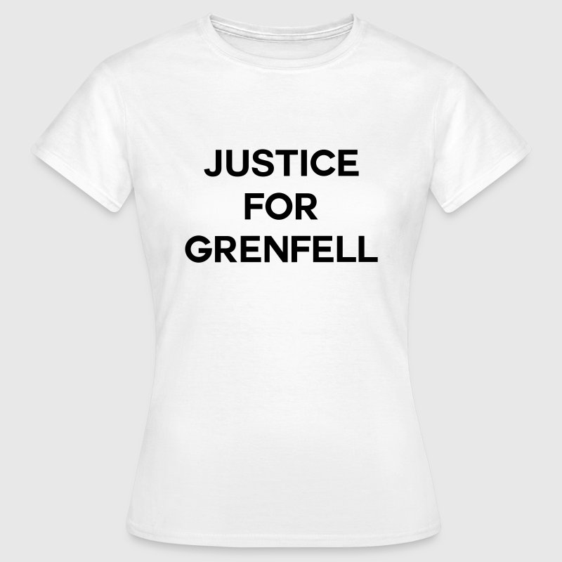 Justice For Grenfell - Women's T-Shirt