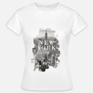Empire State Building New York City - Frauen T-Shirt