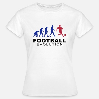Football Evolution - Frauen T-Shirt