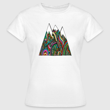 mountains of colour - Women's T-Shirt