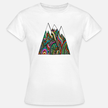 National Colours mountains of colour - Women's T-Shirt