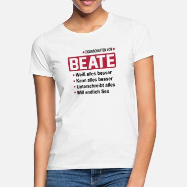 Beat beate - Frauen T-Shirt