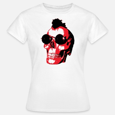 Rock'n'roll Mohawk Skull - Rock'n'Roll - Frauen T-Shirt