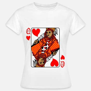 Queen Queen of hearts - Women's T-Shirt