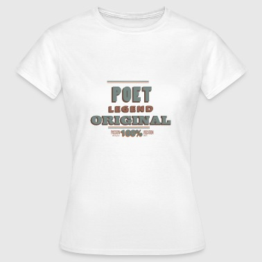 Poet - Women's T-Shirt