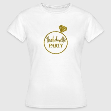 bachelorette_party_ring - Vrouwen T-shirt