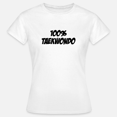 Taekwondo Ka7w108 Sport Fight Fighter Cool Humor Fun Funny Bodybuilder Strength Strong Athlete Vinta Jiu-jitsu / Taekwondo / Sport / fight / fighter - Camiseta mujer