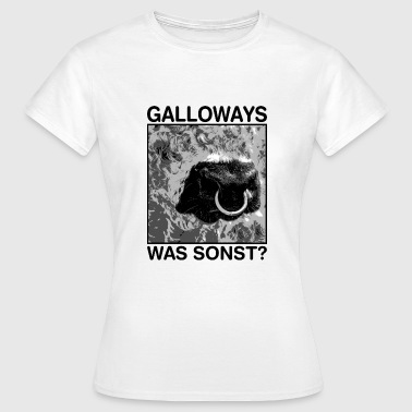 Galloways was sonst / galloways - Frauen T-Shirt