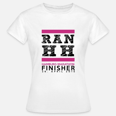 Hamburg Marathon Ran Hamburg Marathon Finisher Shirt - Frauen T-Shirt